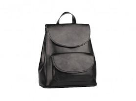 Новый кожаный рюкзак черный Ula