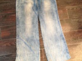 Брюки (легкая джинса) 600р