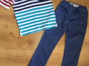 Поло Gymboree и джинсы Crazy8 р.122