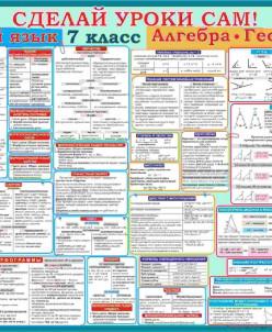 Русский-алгебра-геометрия 7 класс
