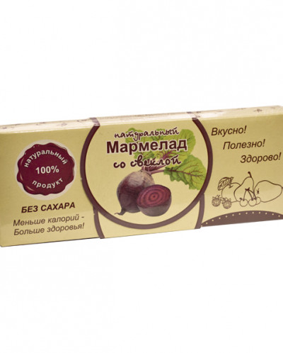 "Мармелад без сахара ""Свекла"" 140г"