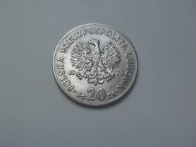 Монета 20 Злотых 1974 год Польша