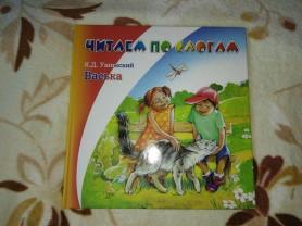 Книга детская читаем по слогам для детей кто учитс