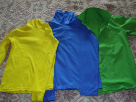 Цветная одежда водолазки