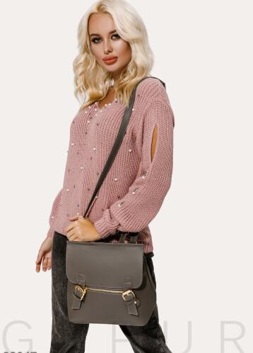 Рюкзак серого цвета