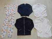 Пижама флис рубашки костюм комплекты для школы 6-9