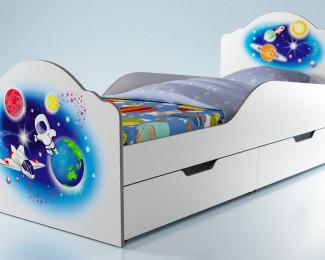 Детская тематическая кровать Elegance
