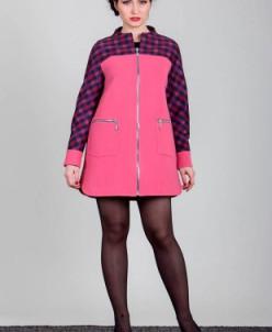Пальто  (светло-пурпурный) Sergio Cotti