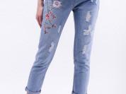 джинсы Gucci flower