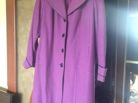 Шерстяное пальто р. 52-54