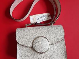 Новая элегантная сумка кроссбоди кожа Италия