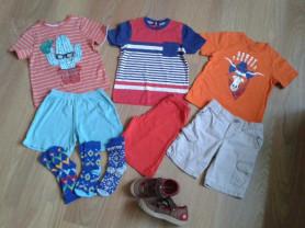 Вещи для мальчика пакетом 116