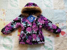 Зимняя куртка huppa  110 размер