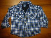 рубашка-куртка/на подкладке Faded Glory, 24мес.нов