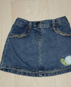 Джинсовая юбка Crazy8 (США)