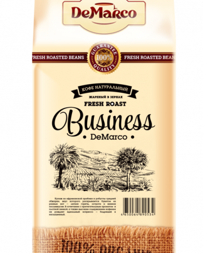 "Кофе в зернах Fresh Roast ""BUSINESS"" DeMarco"