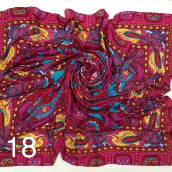 Платок 887 Артикул 82 расцветки