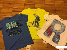 Новые футболки mothercare и woolworths для мальчик
