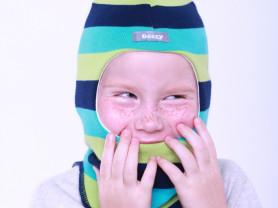 Шапка шлем для мальчика Beezy - аналог Kivat деми