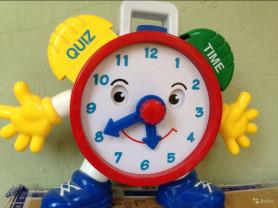 Часы детские обучающие