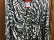 Брендовая новая блузка sheng DI размер 52-53