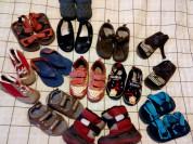 Отдам кучу детской обуви! Размеры разные!