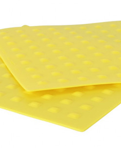 9366 GIPFEL Набор силиконовых салфеток 2шт 20х20 см
