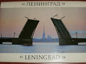Ленинград. Набор открыток 26 шт 1988 СССР 25х17 см