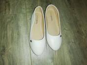Новые белые балетки р. 37