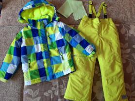 Зимний костюм на рост 116-122