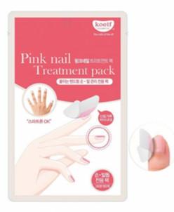 [KOELF] Маски-пластыри д/ногтей Лечебные PINK NAIL TREATMENT