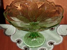 Ваза стекло для сладостей СССР диаметр 25 см