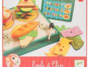 Новая игра Djeco Сэндвичи от Эмиля и Олив