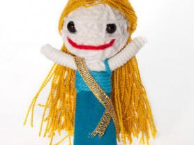 Джейн - кукла, талисман, ручная работа