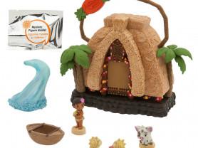 Мини домик Моана музыкальный с фигурками. Disney