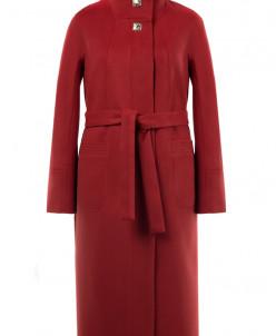 01-7526 Пальто женское демисезонное (пояс)
