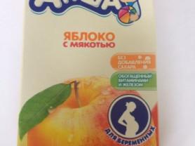 Пристрою сок Агуша для беременных яблоко с мякотью