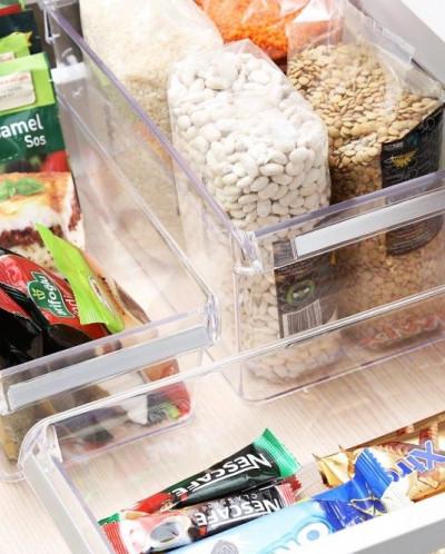 Контейнер для холодильника или шкафа (прозрачный).