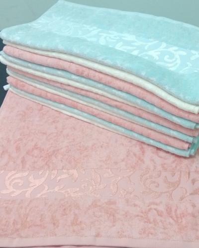 Полотенце махровое Бамбуковый узор 45*90