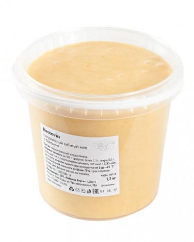 Взбитый мед Nectaria в пластиковых вёдрах.  1.2кг