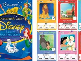 Набор 156 карточек Волшебный мир Disney