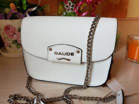 Новая сумка на цепочка сафьяновая кожа Италия