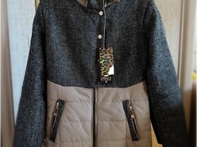 Новое теплое пальто на весну осень 164