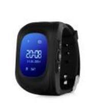 Часы-телефон с GPS-трекером Q50 черные новые