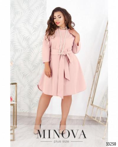 Платье №19-01-пудра
