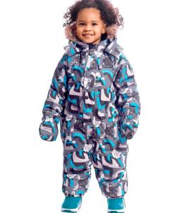 Комбинезон для малышей зимний, зима 19-20