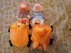 Новые мягкие игрушки на замочках
