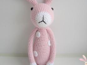Игрушка вязаная Кролик Моня