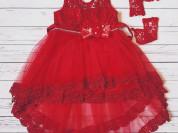 Платье со шлейфом (новое)