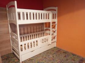 Двухъярусная деревянная кровать. Новая.